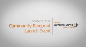 Exelis Action Corps / Community Blueprint Launch